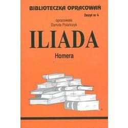 Biblioteczka opracowań zeszyt nr 4 - Iliada (opr. miękka)