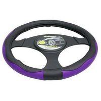 Pokrowce na kierownice, Pokrowiec na kierownicę 37-39,5 Luxury fiolet