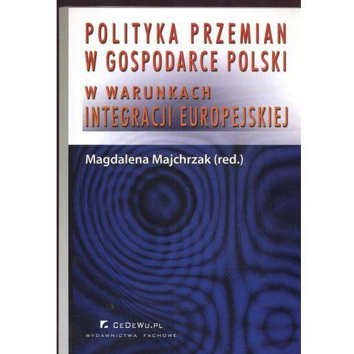 Biblioteka biznesu, Polityka przemian w gospodarce Polski (opr. miękka)