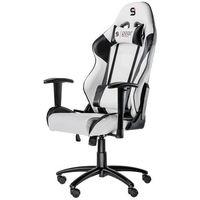 Fotele dla graczy, Fotel dla gracza SilentiumPC Gear SR300 (biały)
