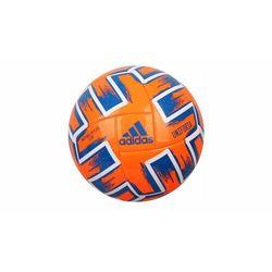 Piłka nożna adidas Uniforia Club FP9705 pomarańczowo-niebieska rozmiar 5