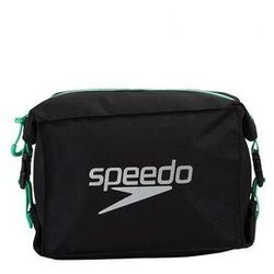 SPEEDO KOSMETYCZKA POOL SIDE BAG AU BLACK-GREEN 5 LITRE