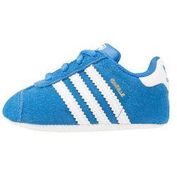 adidas Originals GAZELLE CRIB Obuwie do raczkowania bluebird/footwear white