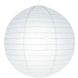 Abażur papierowy GoodHome Raqis 58 cm biały