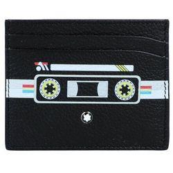 Montblanc Meisterstück Soft Grain Mix Tapes Etui na karty skórzana 10 cm schwarz ZAPISZ SIĘ DO NASZEGO NEWSLETTERA, A OTRZYMASZ VOUCHER Z 15% ZNIŻKĄ
