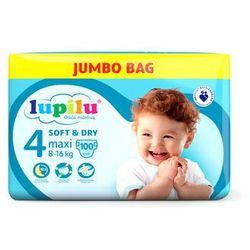 LUPILU® Pieluchy SOFT&DRY 4 Maxi (8-16kg), 100 sztuk