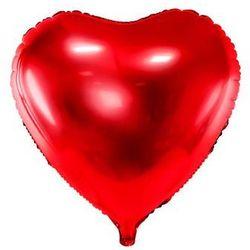 """Balon foliowy """"Serce"""", 24"""", PartyDeco czerwony"""