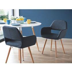 Krzesło ciemnoniebieskie - do jadalni - kuchenne - do salonu - CHICAGO