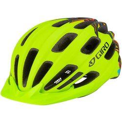 Giro Hale Kask rowerowy Dzieci, zielony/kolorowy U   50-57cm 2022 Kaski dla dzieci Przy złożeniu zamówienia do godziny 16 ( od Pon. do Pt., wszystkie metody płatności z wyjątkiem przelewu bankowego), wysyłka odbędzie się tego samego dnia.