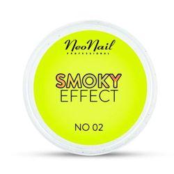 NeoNail SMOKY EFFECT Pyłek No 02 (żółty)