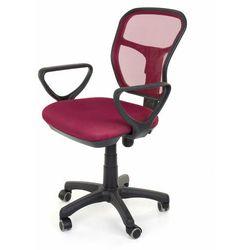 Fotel obrotowy wentylowany - model 8906 - bordowy