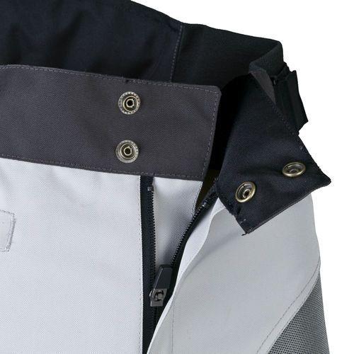 Spodnie motocyklowe męskie, Męskie spodnie motocyklowe na lato W-TEC Umberto, Jasnoszary, 5XL