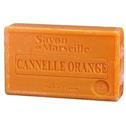 Mydło Marsylskie Pomarańcza-cynamon 100g