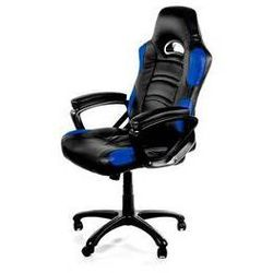 Fotel gamingowy Arozzi ENZO (ENZO-BL) Czarna/Niebieska