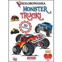 Literatura młodzieżowa, Monster trucki. kolorowanki z naklejkami - hubert włodarczyk
