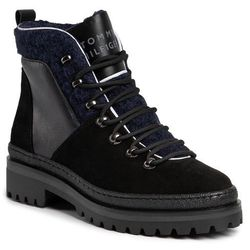 Trapery TOMMY HILFIGER - Cosy Outdoor Bottie FW0FW04349 Black 990