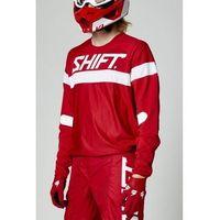 Pozostałe akcesoria do motocykli, Shift bluza off-road white label haut red