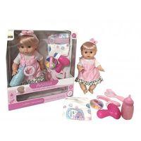 Lalki dla dzieci, Lalka Agusia Różowa sukienka w paski