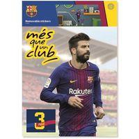 Naklejki na ściany, Imagicom Naklejka ścienna zdejmowalna FC Barcelona - Pique - 2 arkusze