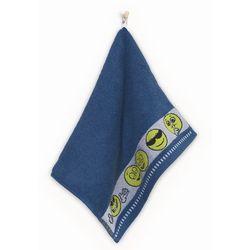 Ręcznik dla dzieci EMOTIKONY 70x130 Zwoltex jeans