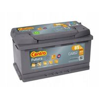 Akumulatory samochodowe, Akumulator Centra FUTURA 85Ah 800A EN PRAWY PLUS