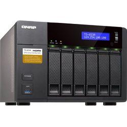 QNAP 6-Bay TurboNAS, SATA 6G, Celeron1.6G Quad Core, 8G RAM, 4x GbE LAN, USB 3.0 TS-653A-8G - odbiór w 2000 punktach - Salony, Paczkomaty, Stacje Orlen