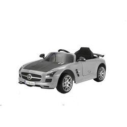 Hecht samochodzik dziecięcy - Mercedes Benz SLS AMG, szary - BEZPŁATNY ODBIÓR: WROCŁAW!