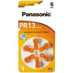 Bateria do aparatu słuchowego PANASONIC PR13/PR48 6 szt