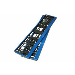 Ramki pod tablice rejestracyjna Niebieska 2szt