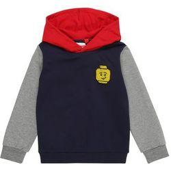 LEGO WEAR Bluza 'LWSIAM 652 - Sweatshirt' granatowy / nakrapiany szary / czerwony