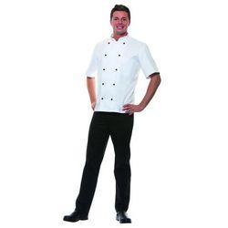 Bluza kucharska męska, rozmiar 44, biała | KARLOWSKY, Lennert