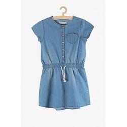 Sukienka dziewczęca niebieska 3K3816 Oferta ważna tylko do 2023-06-02