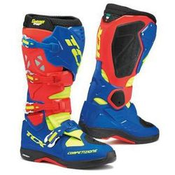 TCX COMP EVO MICHELIN RED/BRIGHT BLUE Buty crossowe