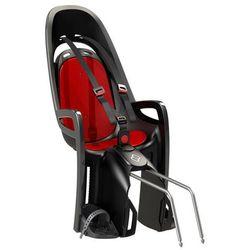 Fotelik rowerowy ZENITH szary, czerwona wyściółka