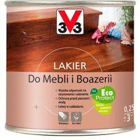 Lakiery, Lakier do mebli V33 dąb rustykalny połysk 0,25 l