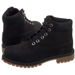 Trapery Timberland Youths 6 IN Premium WP Boot Black A11AV (TI48-a)