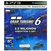Kody i karty przedpłacone, Gra PS3 PS Live Card GT6 IGC