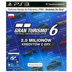 Gra PS3 PS Live Card GT6 IGC