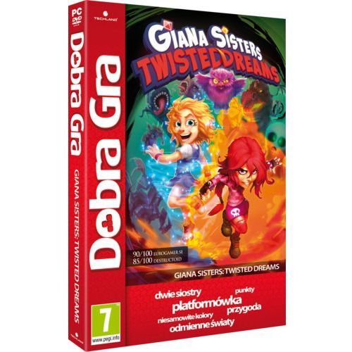 Gry na PC, Giana Sisters Twisted Dreams (PC)