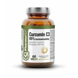 PHARMOVIT (suplementy diety) KURKUMINA 60 KAPSUŁEK 27,3 g - PHARMOVIT (CLEAN LABEL)