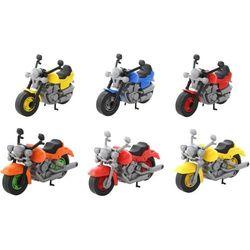 Motor wyścigowy żółty
