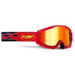 Gogle FMF Powercore Szyba Mirror Flame Red Mirror Red