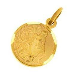 Zawieszka złota medalik