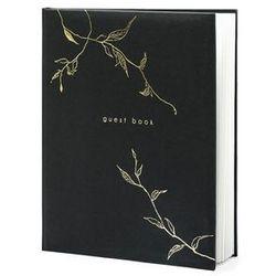Księga gości weselnych Guests Book czarna - 22 kartki
