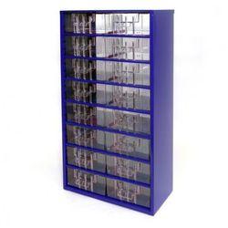 Metalowa szafka z szufladami, 16 szuflad