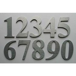 Numer, Numery na drzwi z aluminium