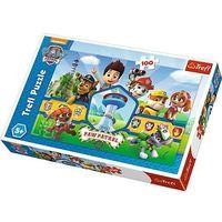 Puzzle, Puzzle 100 elementów - Psi Patrol, Bohaterska drużyna