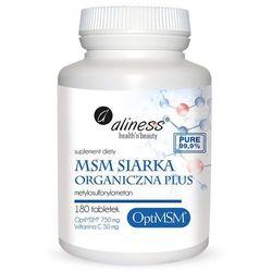 Aliness - Siarka Organiczna OptiMSM - 180caps