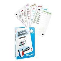 Książki do nauki języka, Rozmówki francuskie i Karty do gry 2w1 - KINGA PERCZYŃSKA (opr. twarda)
