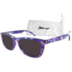 Okulary przeciwsłoneczne dzieci 4-10lat UV400 BANZ - Flyer Purple Tortoise